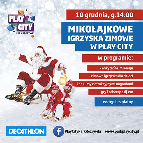 Playcity                        Mikołajki