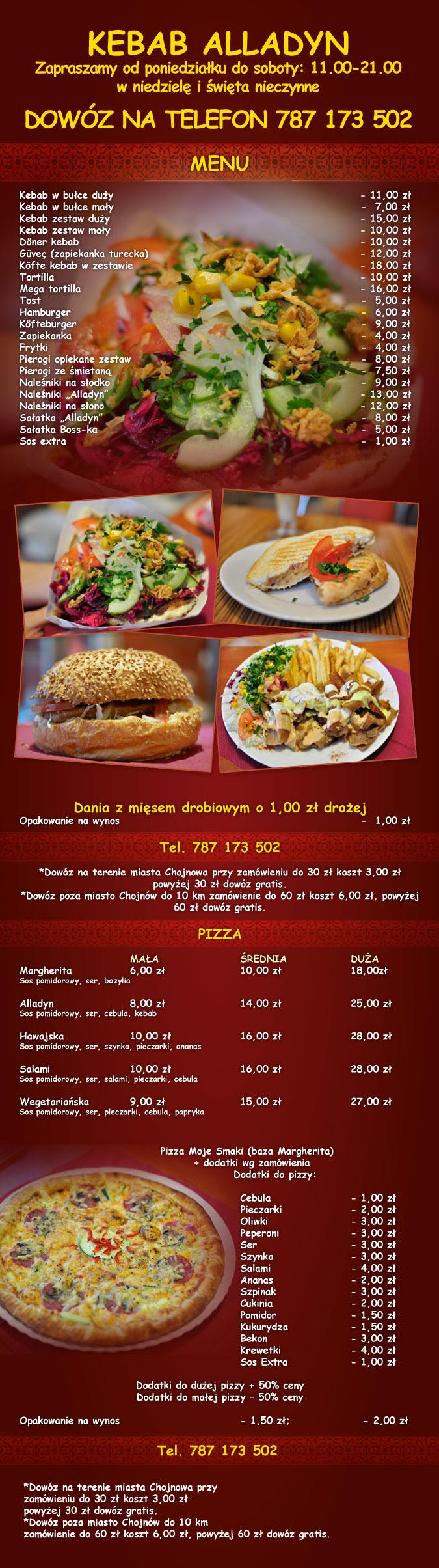 Kebab Alladyn Chojnów