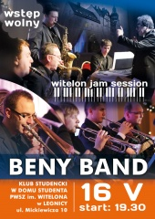 Beny band na Witelon Jam Session