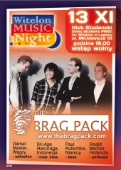 Jazzowa uczta w Legnicy - The Brag Pack na Witelon Music Night